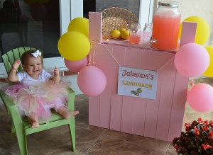 1st Birthday Party Theme