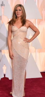 Jennifer Aniston Oscars 2015 Red Carpet