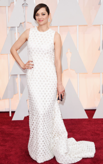 Marion Cotillard Oscars 2015 red Carpet