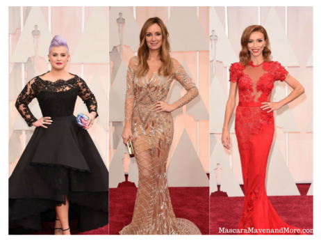 E! Women on the Oscar 2015 Red Carpet