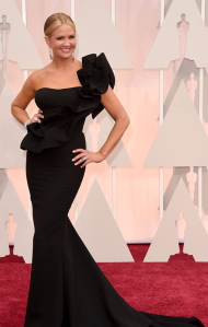 Nancy O'Dell Oscars 2015 Red Carpet