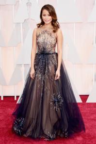 Jamie Chung Oscars 2015 Red Carpet