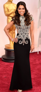 Tracey Edmonds Oscars 2015 Red Carpet